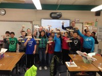 5th Graders Learn About Airplanes and Flight, Jan 2015