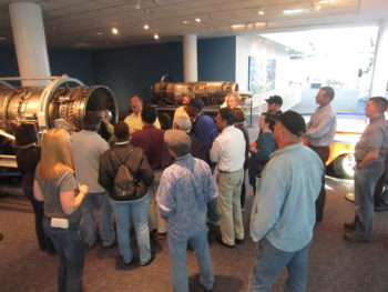 Museum field trip from a recent Intro to Jet Engines course.